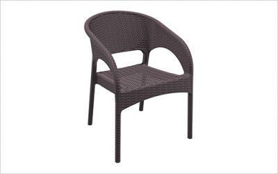 1808: Stapelbar stol med snabbleverans