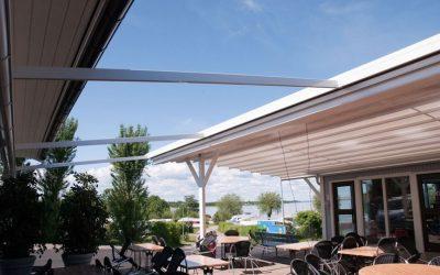 550-C: Väggmonterad SEASIDE GARDEN lösning™ mellan fasadväggar
