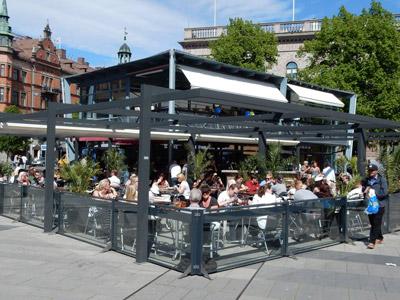 Brända Bocken i Gävle