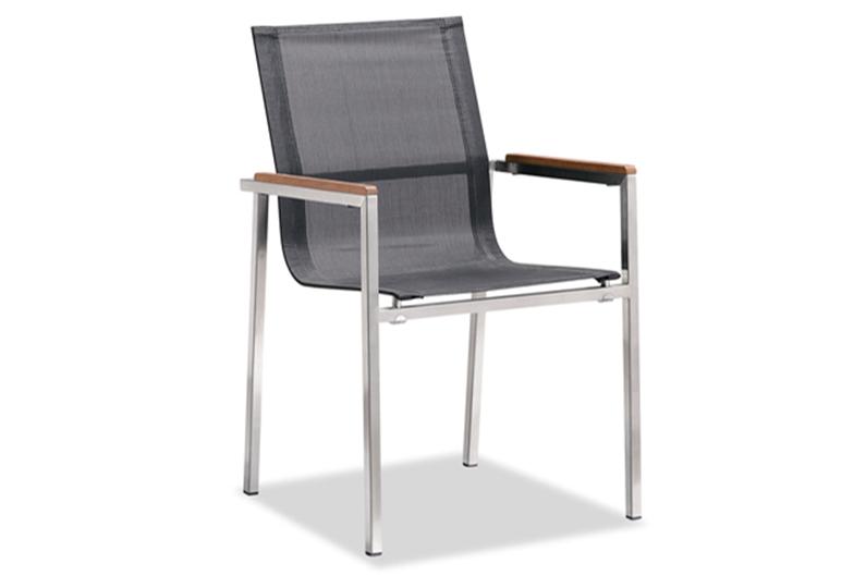Stol Modern 105, svart